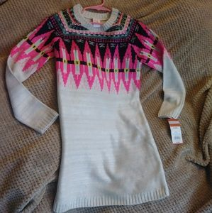 Girls sweater dress size 7-8